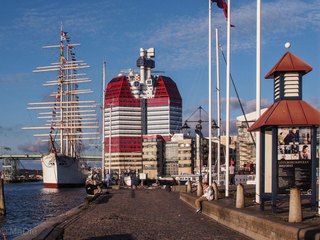Lipstick in Göteborg am alten Hafen