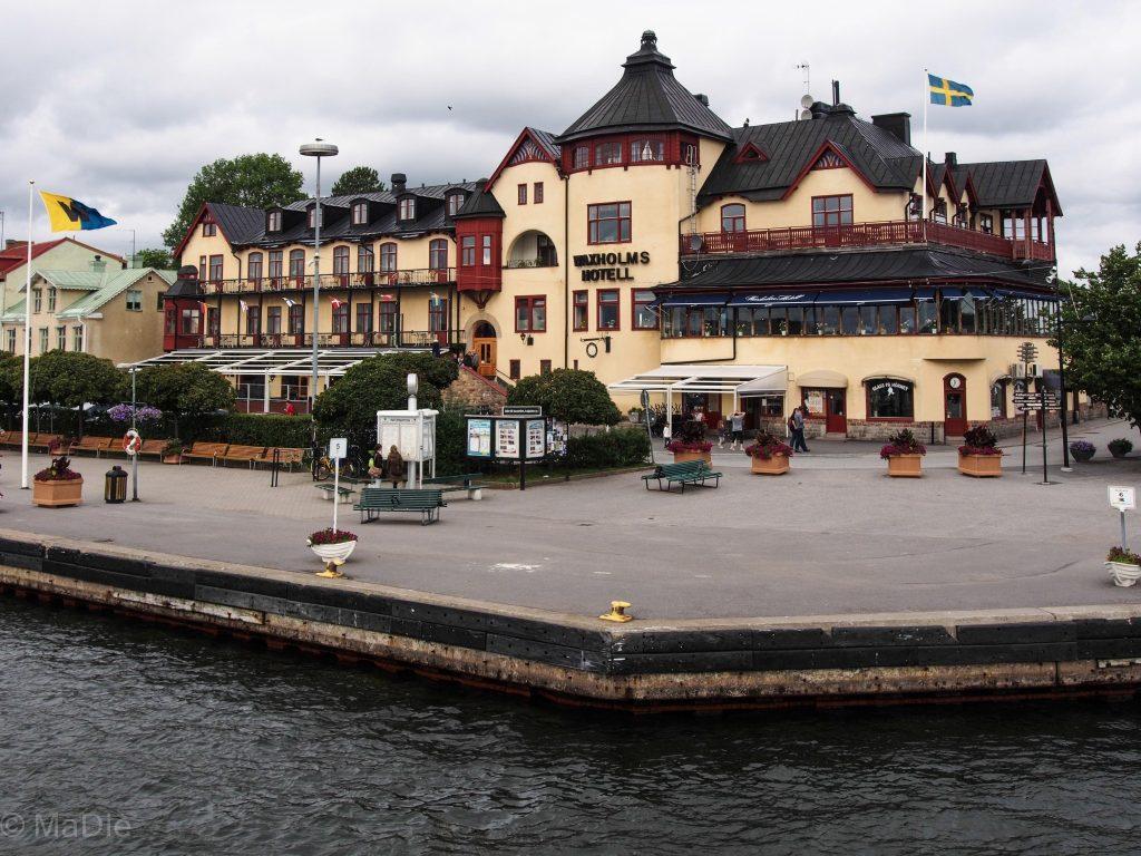 In den Schären bei Vaxholm