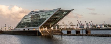 Hamburg: Dockland, ein Platz für Fotografen und Sehleute