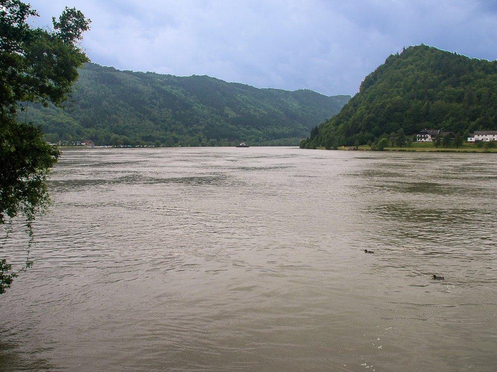 Donau bei Schlugen