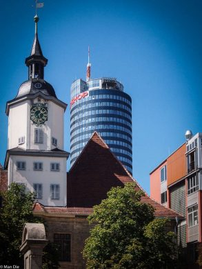 Jena Rathaus und Jentower