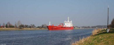 Schiff auf dem NOK