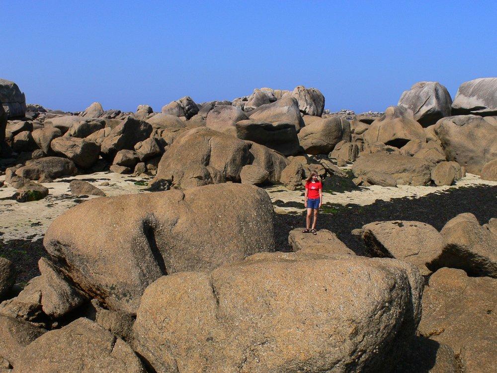 Felsenküste bei Brignogan