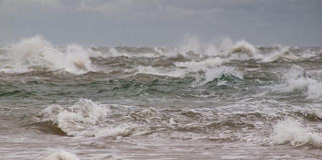 Wellen in Skagen
