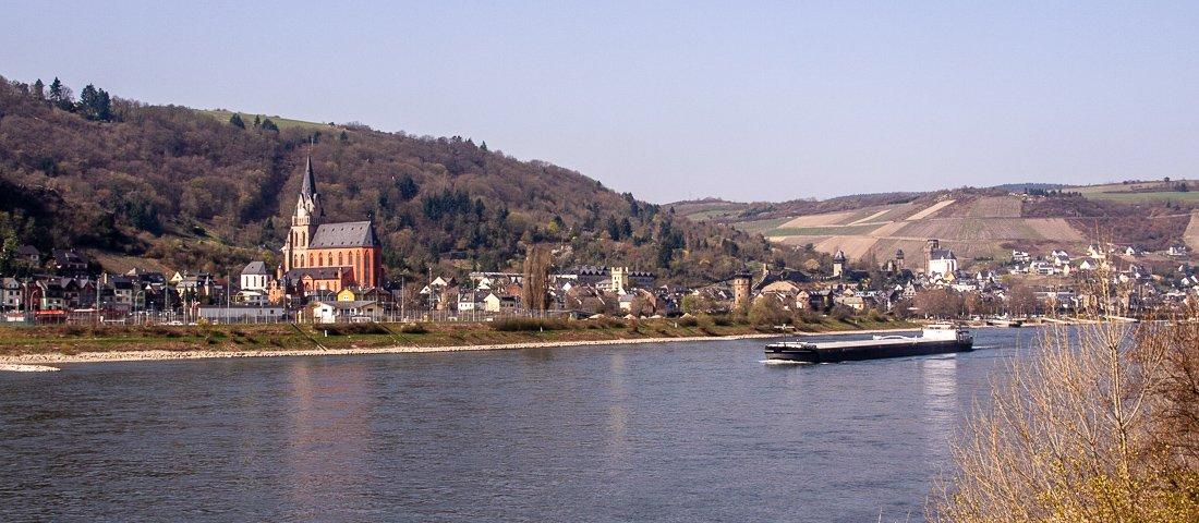 Das romantische Rheintal zwischen Koblenz und Rüdesheim