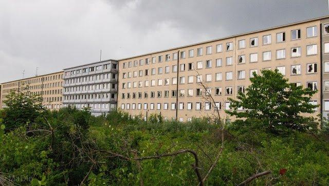 Prora, Teil der Bauten