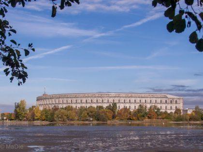Die Kongresshalle geplant für den Reichsparteitag
