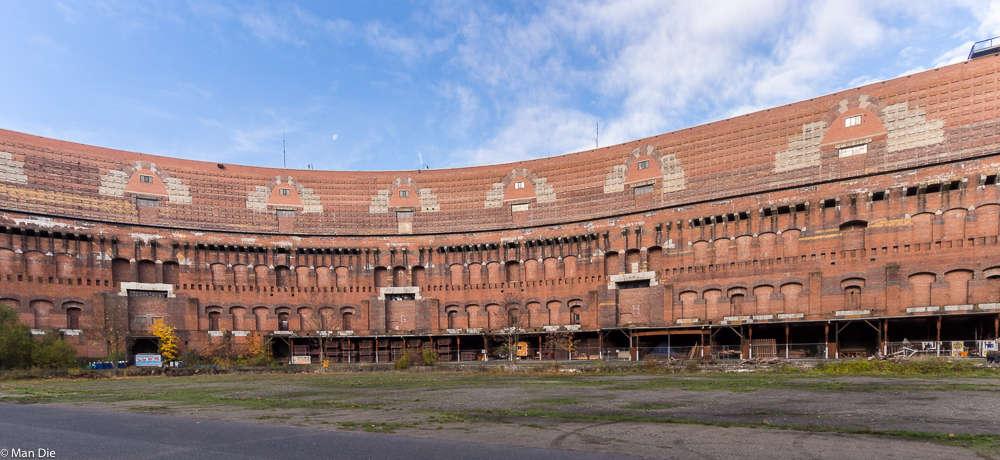 Innenhof Kongresshalle Nürnberg