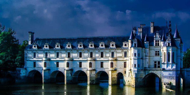 Schloss Chenonceau leicht verfremdet