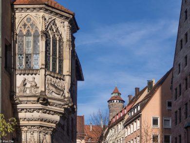Nürnberg Altstadt Chörlein am Dürerplatz