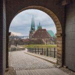 Erfurt, Gothaer Straße, am Messegelände