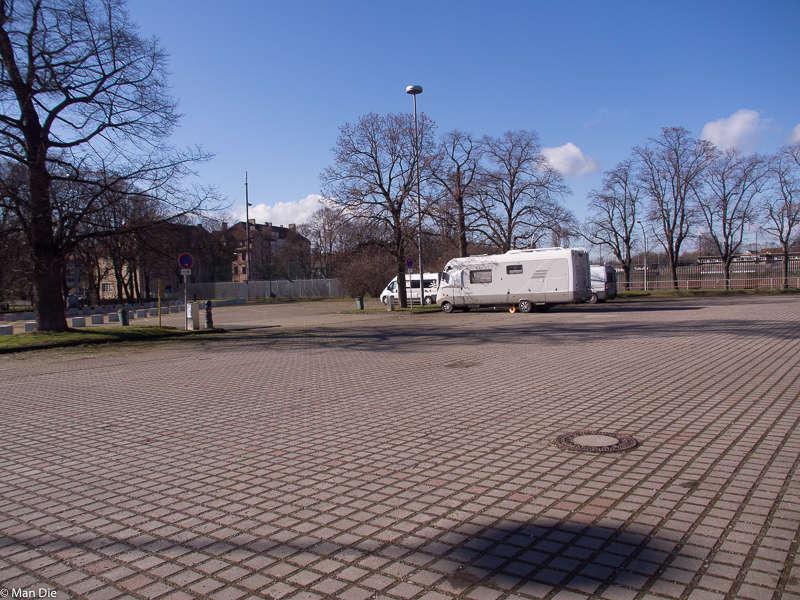 Weimar, Stellplatz am Hermann-Brill-Platz