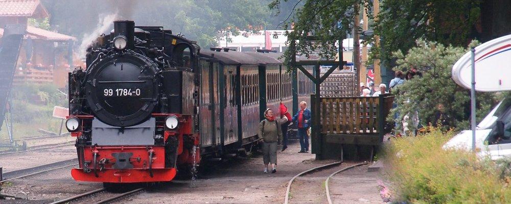 Eisenbahnromantik live, der Rasende Roland auf Rügen