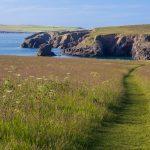 Cornwall, Porthcothan – Campingplatz Atlantik View,