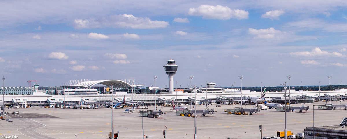 Ein Besuch des Münchner Flughafens