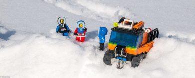 Schnee auf dem Wohnmobildach - eine große Gefahr!