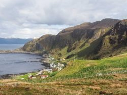 Die Vogelinsel Runde in Norwegen