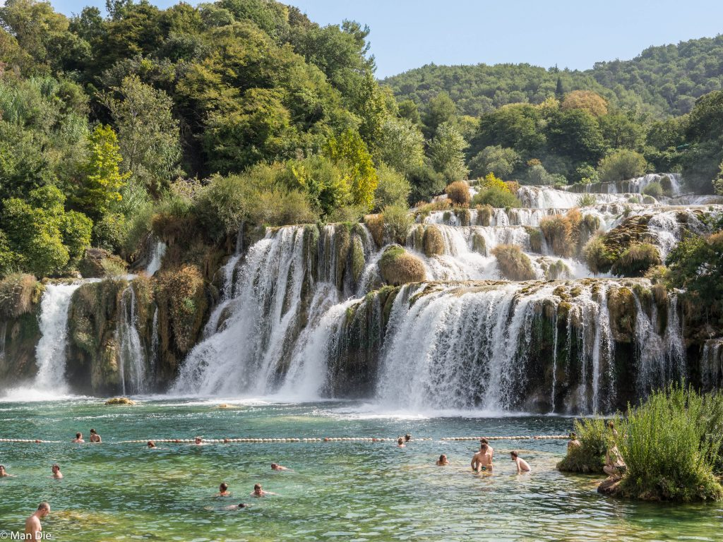 Kroatien, Krka Nationalpark