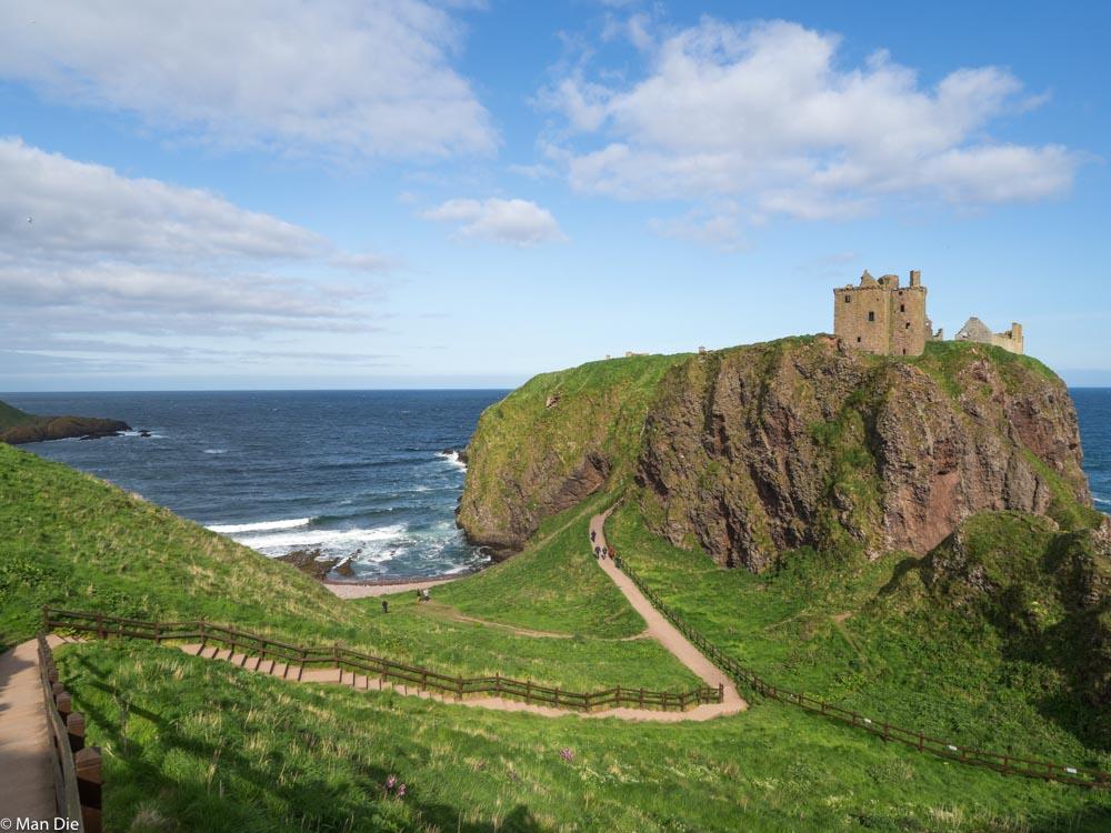 Dunnator Castle Schottland