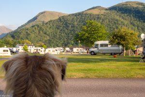 Highlands, Invercoe - Camping Glencoe, ein Platz am Fjord