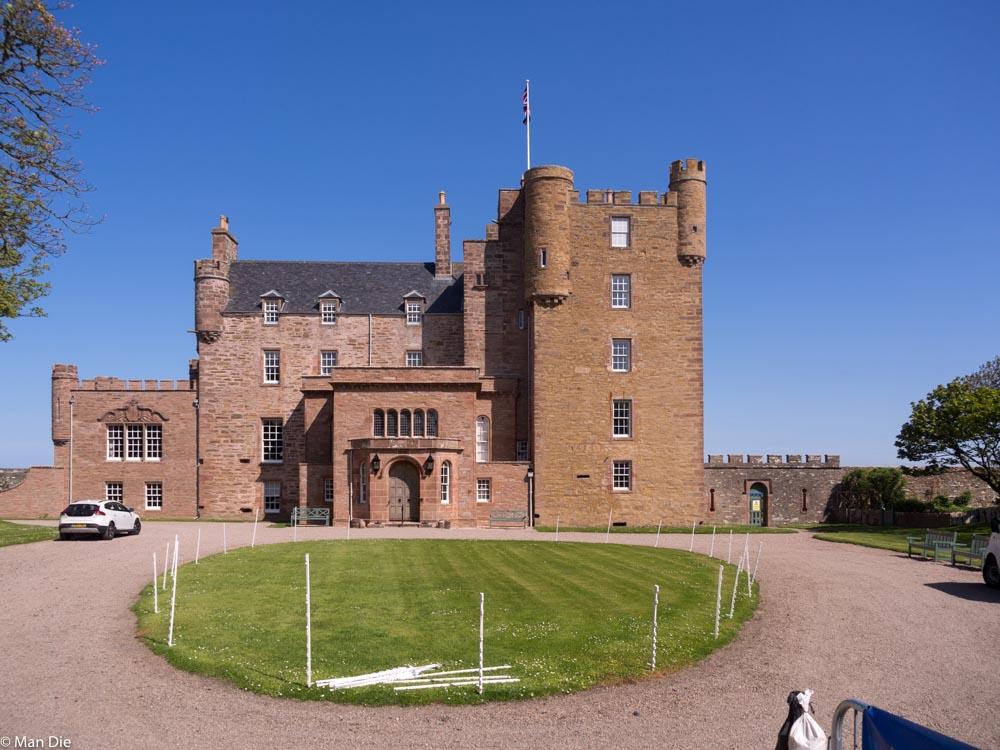 Landschaft am Castle of May, Ferienwohnung von Queen Mum