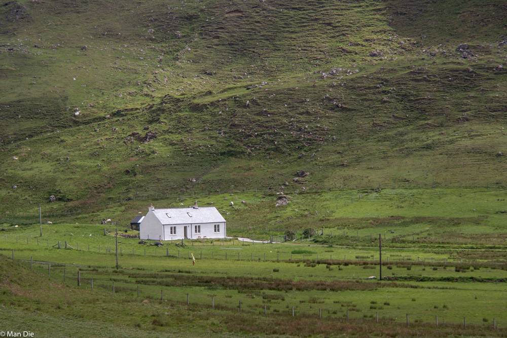 Landschaft auf Sky Schottland