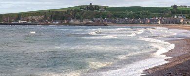 Aberdeenshire, Stonehaven - ein Campingplatz nicht ganz am Meer