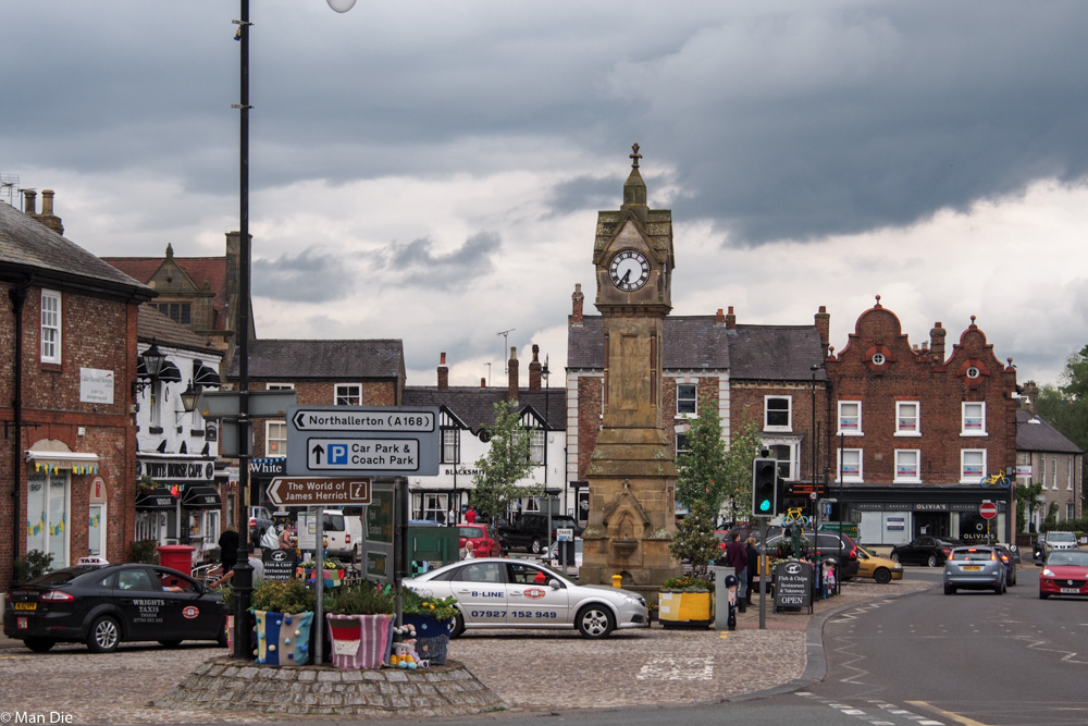 Thirsk England, Stadtmitte