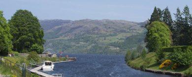 Highlands, Fort Augustus - Cumberlands-Campsite am Loch Ness
