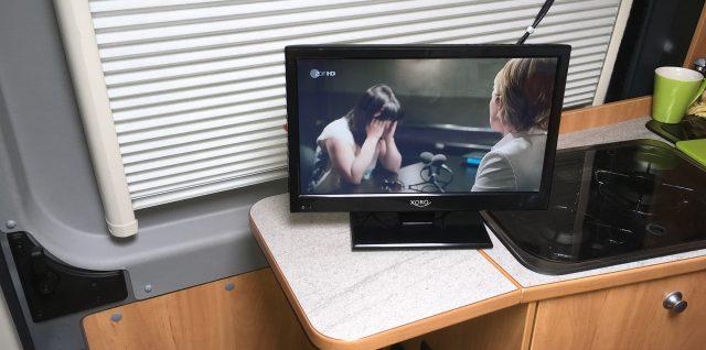Fernseher im Wohnmobil