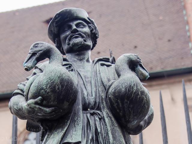 Gäsemännchenbrunnen in Nürnberg