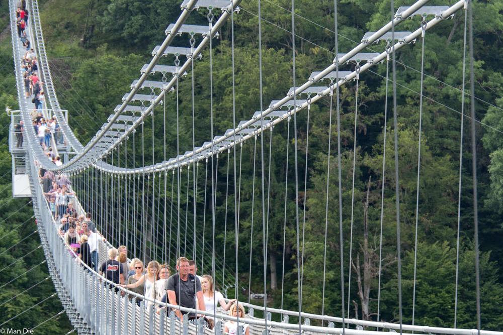 Hängebrücke Im Harz
