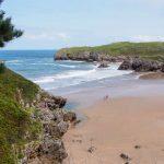 Asturien, Celorio – Camping Playa de Troenzo