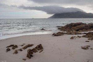Schlechtes Wetter in Muros