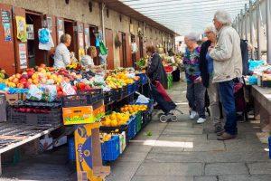Santiago de Compostela, Markthallen
