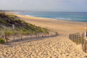 Strand am Atlantik