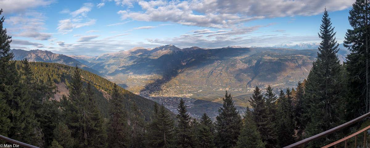 Südtirol im November, immer der Sonne hinterher