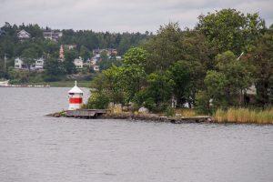 Küste in Bohuslän Schweden