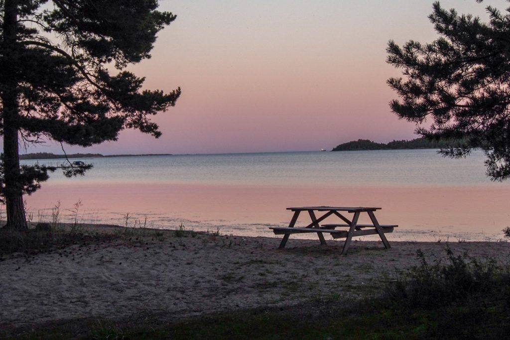 an der schwedischen Ostküste