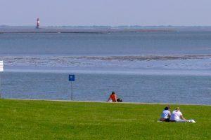 Strand bei Wilhelmshaven Nordsee