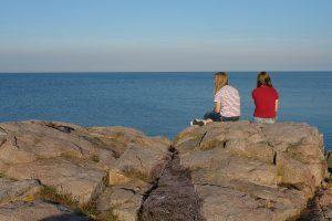 unendliche Weite, gesehen auf Bornholm