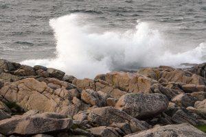 Wellen an der Westküste