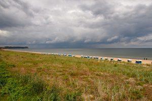 Strand. auf Rügen Ostsee