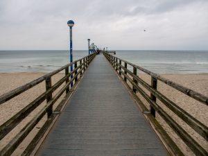 Seebrücke von Zingst Ostsee