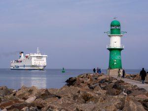 Fähre in Warnemünde Ostsee