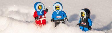 Frieren im Schnee (Lego)