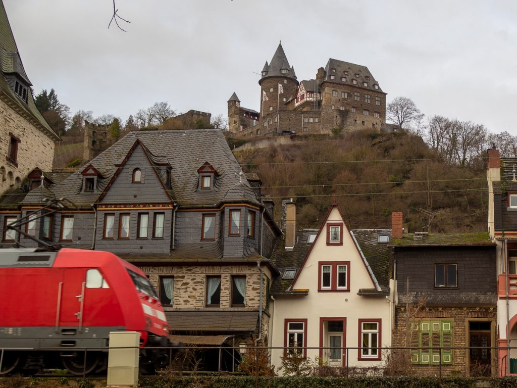 Bacharach am Rhein Zugverkehr