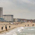 Im März an die Ostsee, viel Wind und Regen