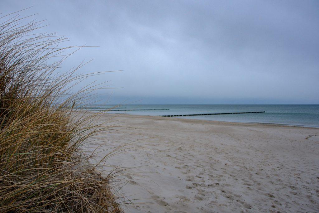 Strand auf Zingst