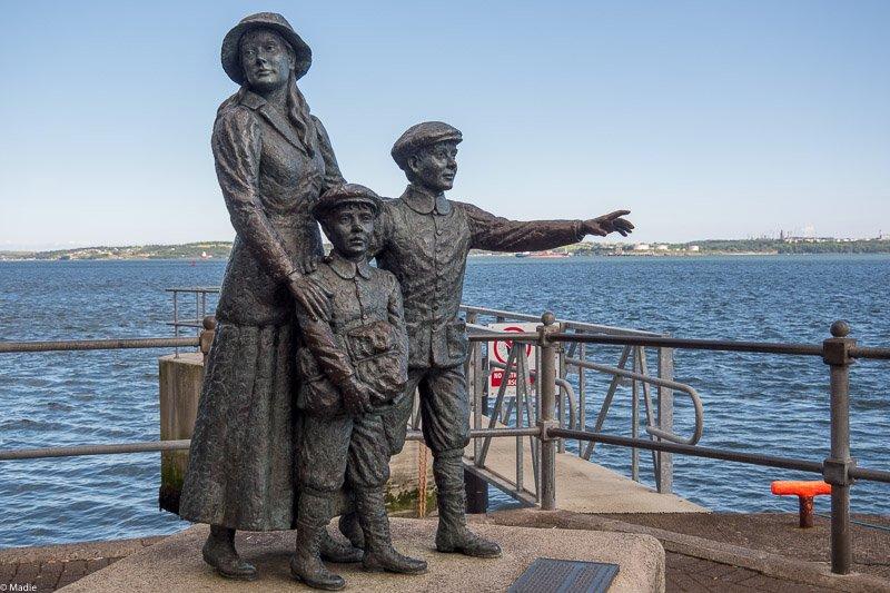 Auswandererdenkmal in Cobh